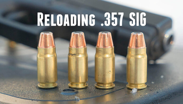 Reloading The .357 SIG