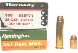 Reloading The .357 Remington Maximum