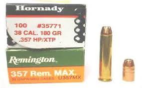 Reloading The .357 Remington Maximum